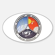 Natl. Astronomy Ctr Logo Decal