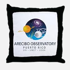 Arecibo Observatory Throw Pillow