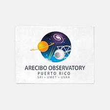 Arecibo Observatory 5'x7'Area Rug