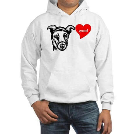 Portuguese Cattle Dog Hooded Sweatshirt