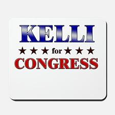 KELLI for congress Mousepad