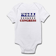 KELLI for congress Infant Bodysuit