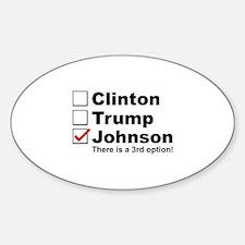 Johnson 3rd Option Decal