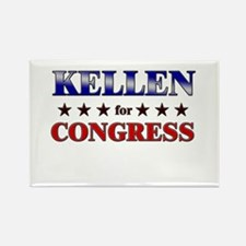 KELLEN for congress Rectangle Magnet
