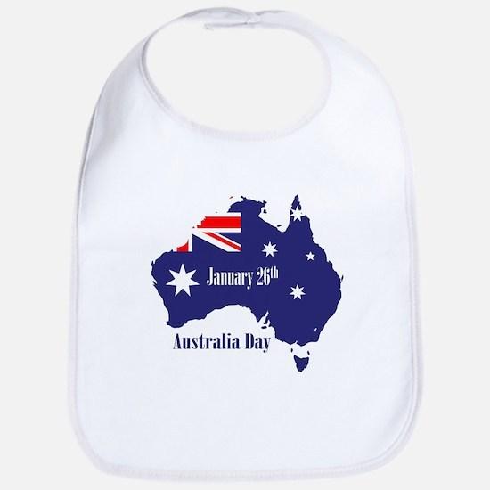 Happy Australia Day Bib