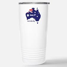 Happy Australia Day Travel Mug