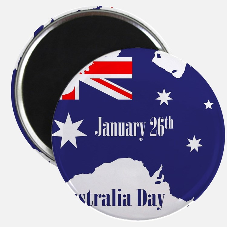 Happy Australia Day Magnets