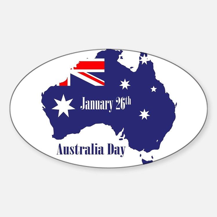 Happy Australia Day Decal