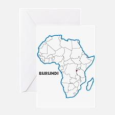 Burundi Greeting Cards