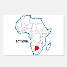 Botswana Postcards (Package of 8)