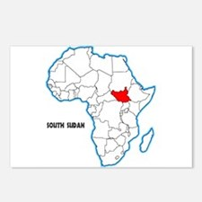 South Sudan Postcards (Package of 8)