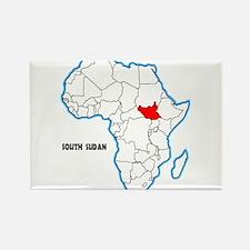 South Sudan Magnets