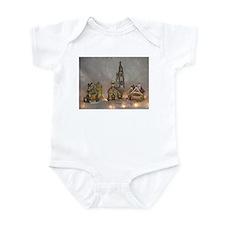 Christmas Houses Infant Bodysuit
