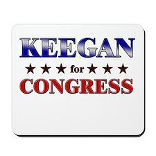 KEEGAN for congress Mousepad