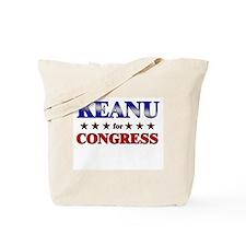 KEANU for congress Tote Bag
