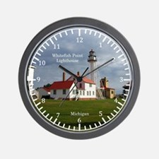 Whitefish Point Lighthouse Wall Clock