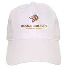 Rough Collie Baseball Cap