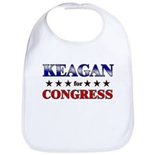 KEAGAN for congress Bib