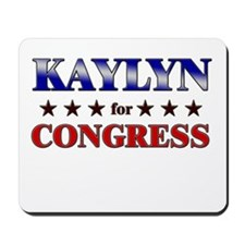 KAYLYN for congress Mousepad