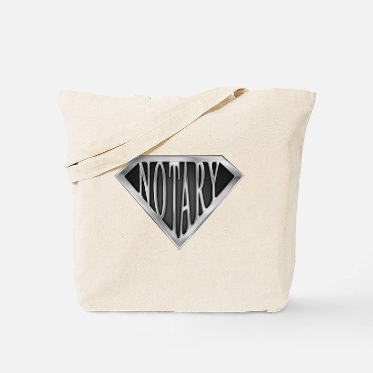 SuperNotary(metal) Tote Bag