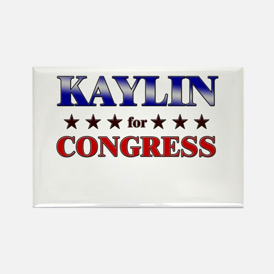 KAYLIN for congress Rectangle Magnet