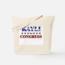 KAYLI for congress Tote Bag