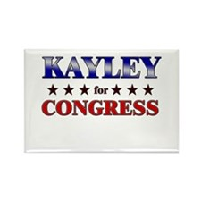 KAYLEY for congress Rectangle Magnet