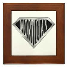SuperMortician(metal) Framed Tile