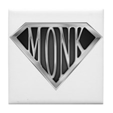 SuperMonk(metal) Tile Coaster