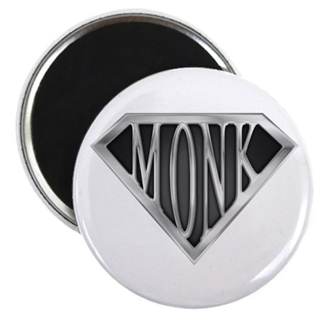 """SuperMonk(metal) 2.25"""" Magnet (100 pack)"""