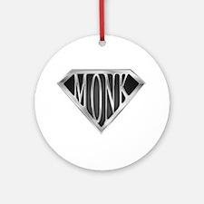 SuperMonk(metal) Ornament (Round)