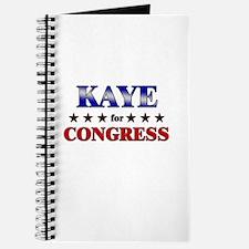 KAYE for congress Journal