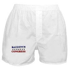 KAYDENCE for congress Boxer Shorts