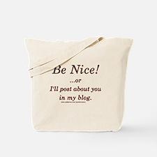 Funny Blogger Joke  Tote Bag