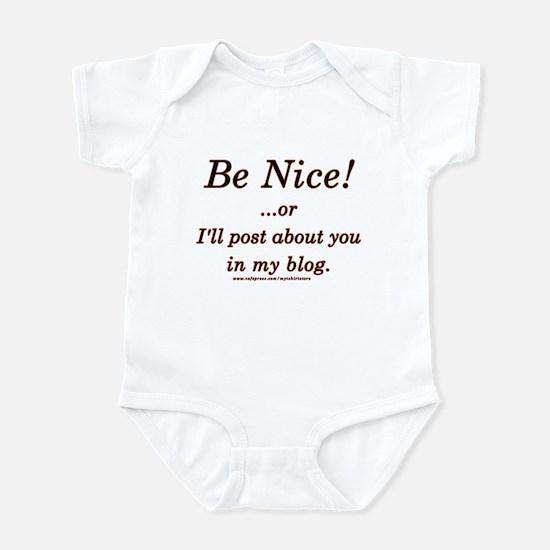 Funny Blogger Joke  Infant Bodysuit