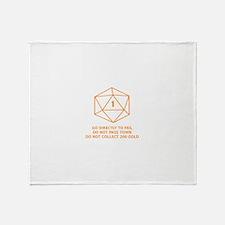 Go Directly To Fail Throw Blanket