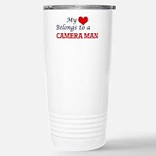 My heart belongs to a C Travel Mug