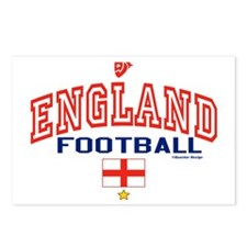 England Football/Soccer Postcards (Package of 8)