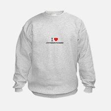 I Love JITTERBUGGERS Sweatshirt