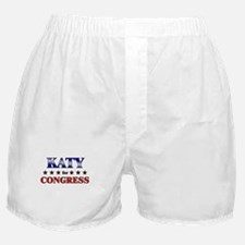KATY for congress Boxer Shorts