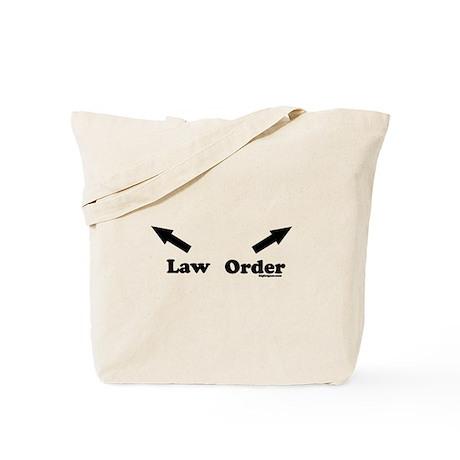 Law & Order Tote Bag