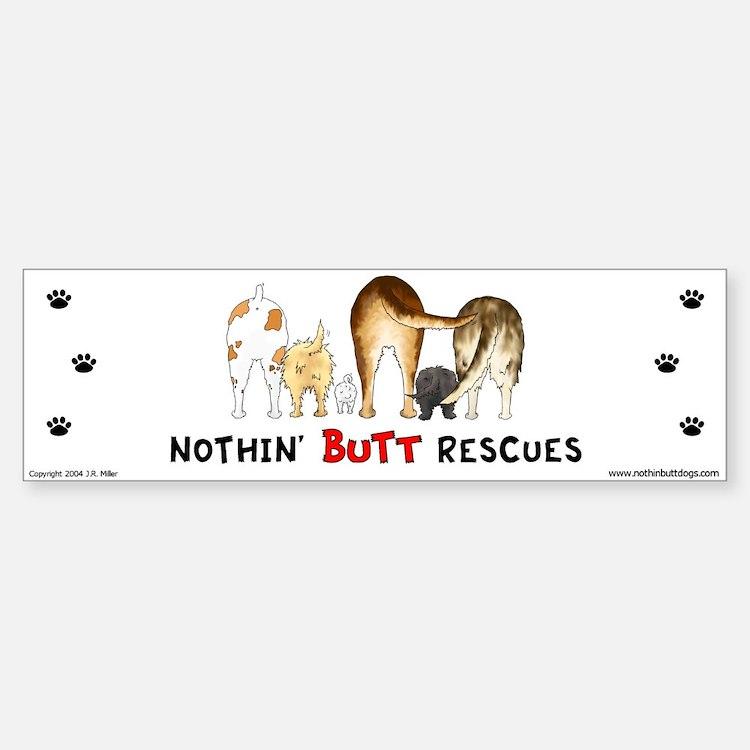 Dog Breed Rescues Bumper Bumper Bumper Sticker
