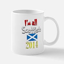 'I'm All Scottish 2014. Mug
