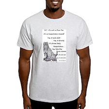 Neapolitan Mastiff Ash Grey T-Shirt
