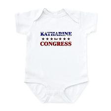 KATHARINE for congress Infant Bodysuit