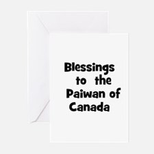 Blessings  to  the  Paiwan of Greeting Cards (Pk o