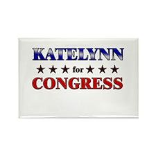 KATELYNN for congress Rectangle Magnet