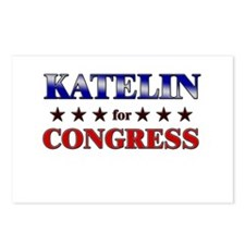 KATELIN for congress Postcards (Package of 8)