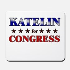 KATELIN for congress Mousepad