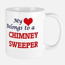 My heart belongs to a Chimney Sweeper Mugs